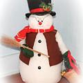 Snowman by Eleanor Abramson