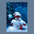 Snowman by Frederick Holiday