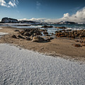 Snowy Beach by Sebastian Worm
