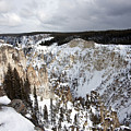Snowy Canyon by Mary Haber