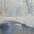 Snowy Creek by Harley Harp
