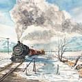 Snowy Crossing by Sam Sidders