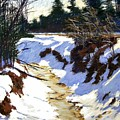 Snowy Ditch by Mary McInnis