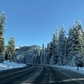 Snowy Drive by Erik Roeser