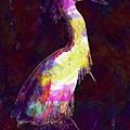 Snowy Egret Waterfowl Bird Large  by PixBreak Art