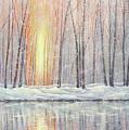 Snowy Glow by Paul Henderson