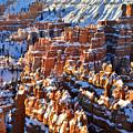 Snowy Hoodoos by Ray Mathis