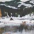 Snowy Lake by Travis Day