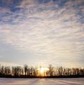 Snowy Michigan Morning by Shawn Smith
