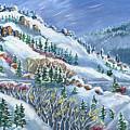 Snowy Mountain Road by Dawn Senior-Trask