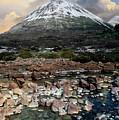Snowy Mountains Of Isle Of Skye by Jaroslaw Blaminsky