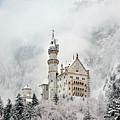 Snowy Neuschwanstein by Brian Jannsen