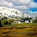 Snowy Peaks by Brian Simons
