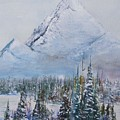 Snowy Peaks by Sibby S