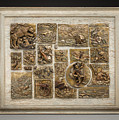 Snowy Range Life - Large Relief Panel by Dawn Senior-Trask