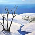 Snowy Scene by Reb Frost