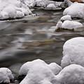 Snowy Stickney Brook by Tom Singleton