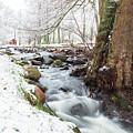 Snowy Stream Landscape by Sophie McAulay