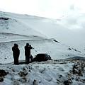 Snowy Switchbacks On Pikes Peak by William Slider