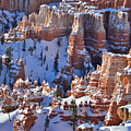 Snowy Turrets by Ray Mathis