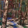 Snowy Woods by Marilyn Quigley