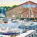 Snug Harbor II by LeAnne Sowa