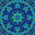 So Blue - 04v2 - Mandala by Aimelle
