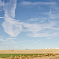 So Many Clouds And Contrails by Sue Smith