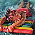 Soaking Up The Sun by Camellia Jiles
