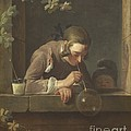Soap Bubbles by Jean Simeon Chardin