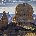 Soaring Red Rock Monoliths by Joseph Yvon Cote