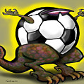 Soccer Saurus Rex by Kevin Middleton