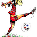 Soccer Striker by Keith Naquin