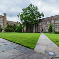 Sociology-psychology Building At Duke University by Bryan Pollard