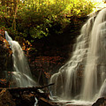 Soco Waterfalls From Spillway by Chris Flees