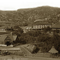 Soda Springs And Cliff House In Manitou, Colorado by California Views Archives Mr Pat Hathaway Archives