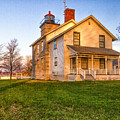 Sodus Point Lighthouse And Museum by Rod Best