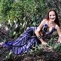 Sofia Of Ameynra. Cybergoth Belly Dancer by Sofia Metal Queen