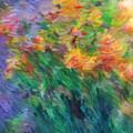 Soft Iris 2 by Don Zawadiwsky