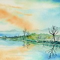 Soft Reflections  by Brenda Owen