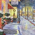 Soft Snowfall In Dahlonega Georgia An Old Fashioned Christmas by Nicole Angell
