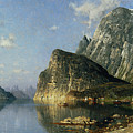 Sogne Fjord Norway  by Adelsteen Normann
