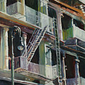 Soho Fire Escapes by Patti Mollica