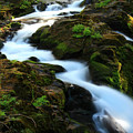 Sol Duc Falls 2 by Ingrid Smith-Johnsen