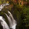 Sol Duc Falls by Heniek