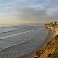 Solana Beach Coastline by Loretta Orr