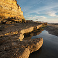 Solana Beach Low Tide by William Dunigan