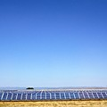 Solar Panel Farm On The Way To Seville From Cordoba Spain by John Shiron
