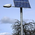 Solar Powered Street Light, Uk by Mark Williamson