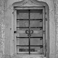 Soldatenbau Window B W by Teresa Mucha